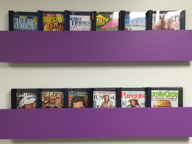 Large Magazine Selection